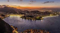 Fantastischer Blick auf Rio de Janeiro.