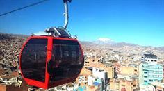 Seilbahn über La Paz.