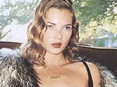 Scheint entschlossen: Kate Moss.