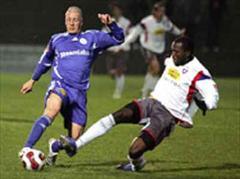 Concordias Giuseppe Morello gegen Chiassos Ugor Nganga.