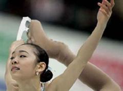 Liegt vorne: Yu-Na Kim.