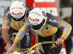 Sieg knapp verpasst: Ivo Rüegg und Cederic Grand.