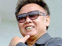 Geste an China: Kim Jong Il.