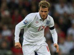 David Beckham fehlt England gegen Brasilien.