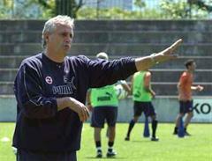U21-Coach Bernard Challandes.