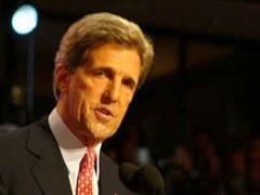 US-Präsidentschaftskandidat John Kerry.