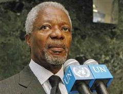 UNO-Generalsekretär Kofi Annan.