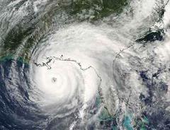 Hurrikan Ivan wütete schon am Mittwoch in der Karibik.