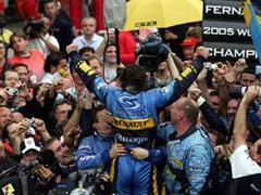 Fernando Alonso hat's geschafft: Er ist der jüngste Formel-1-Weltmeister.