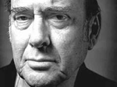Mit «Der Hausmeister» erlangte Harold Pinter Weltruhm.