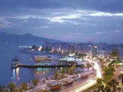 Die türkische Stadt Izmir.