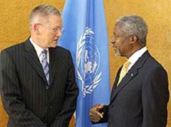 Detlev Mehlis über gab den Bericht gestern Kofi Annan. (Archivbild)