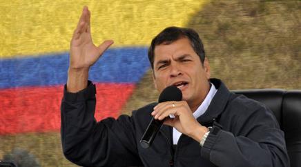 Präsident Rafael Correa teilte mit, das Beben nun habe sich in der gleichen Region ereignet. (Archivbild)