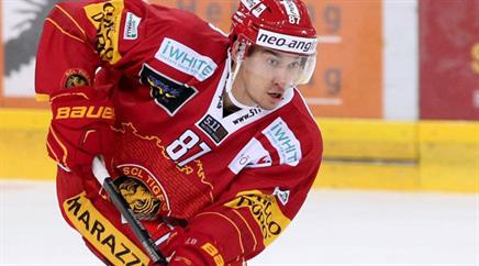 Alban Rexha stösst zu Red Ice Martigny.