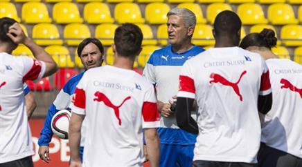 Trainer Vladimir Petkovic setzt auf ein eingespieltes Ensemble.