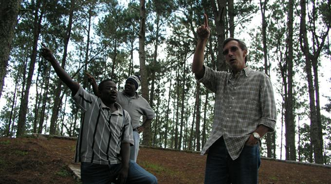 Bernard Zaugg, Hevetas Programmleiter in Haiti.