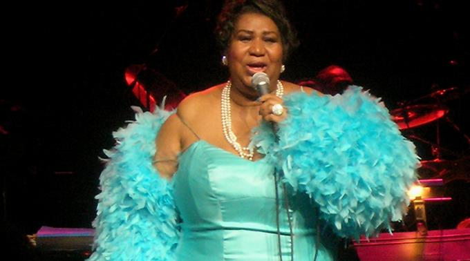 Soul-Diva Aretha Franklin.