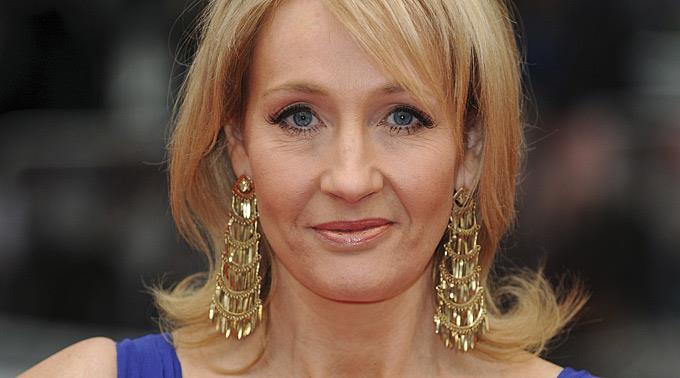 J.K. Rowling mysteriös.