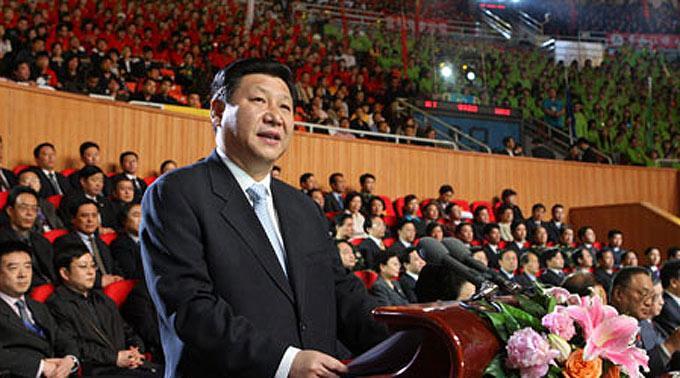 Chinas Vize-Präsident Xi Jinping.