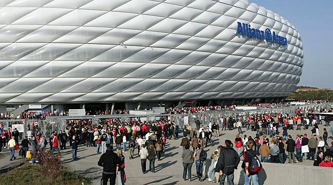 Bayerns Allianz Arena.