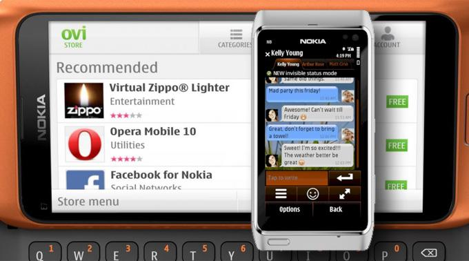 Nimbuzz 3.01 für Symbian^1, Symbian^3 und Symbian S60.