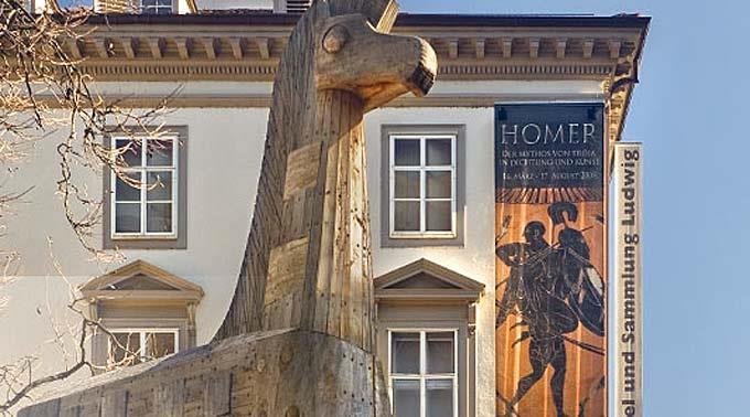 Das Antikenmuseum in Basel.