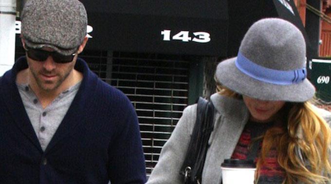 Ryan Reynolds und Blake Lively.