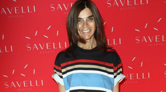 Carine Roitfeld erinnerte sich zurück an ihre Zeit als Model.