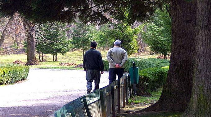 Bewegung tut auch Senioren gut.