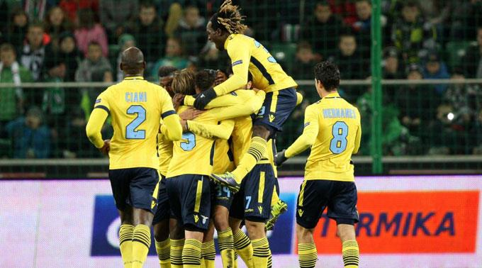 Auch Lazio Rom konnte jubeln.