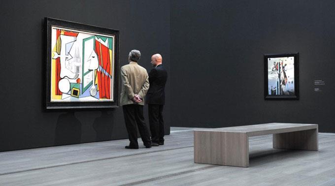 Kunstinteressierte im Beyeler Museum.  (Archivbild)