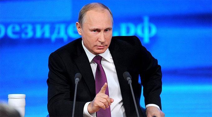 Wladimir Putin geht mit den Funktionären hart ins Gericht.
