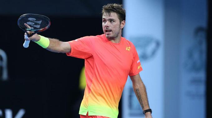 Stan Wawrinka ist am Australian Open auf Kurs.
