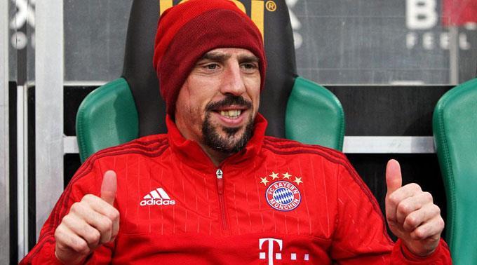 Franck Ribéry kann im Training wieder mittun.