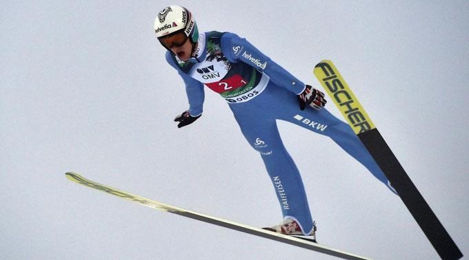 Gregor Deschwanden sprang auf Platz 14. (Archivbild)