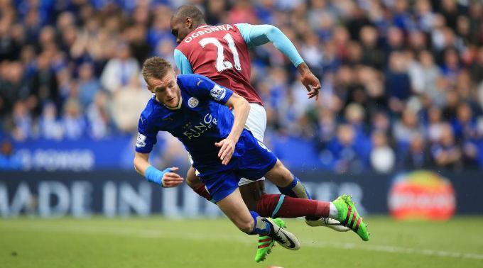 Leicester City schafft es knapp, den Punkt zu holen.